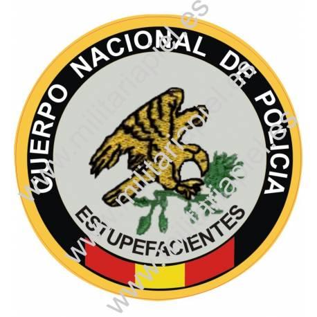 ADHESIVO CUERPO POLICIA NACIONAL ESTUPEFACIENTES