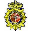ADHESIVO CUERPO POLICIA NACIONAL INSIGNIA