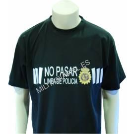 CAMISETA CUERPO NACIONAL POLICIA BALIZA