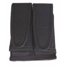 PORTA-CARGADOR DOBLE DE CORDURA, SUBJECCION HORIZONTAL Y/O VERTICAL