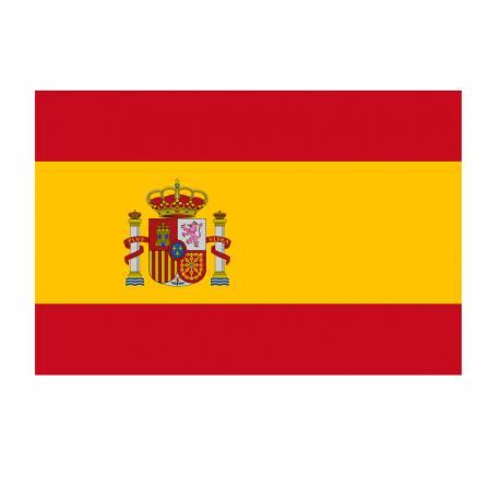 BANDERA ESPAГ'A CON ESCUDO CONSTITUCIONAL