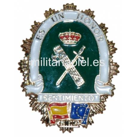 PLACA INSIGNEA AMIGOS DE LA GUARDIA CIVIL
