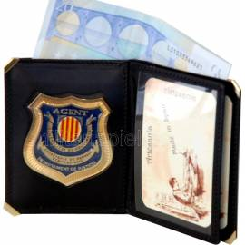 CARTERA PORTAPLACA LIBRO PRESONS (PLACA INCLUIDA)