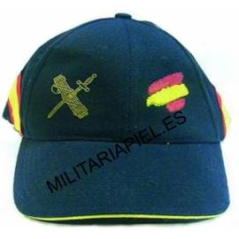 GORRA CON EL EMBLEMA DE LA GUARDIA CIVIL