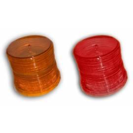 PLASTICO PARA PLD30 (en color ambar o rojo)