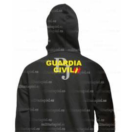 SUDADERA CON CAPUCHA GUARDIA CIVI POLICIA JUDICIAL