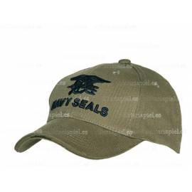 GORRA BORDADA NAVY SEALS