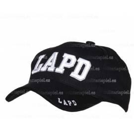 GORRA BORDADA LAPD (DEPARTAMENTO DE POLICIA DE LOS ANGELES)