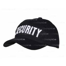 GORRA BORDADA SECURITY (SEGURIDAD)