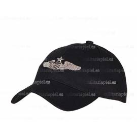 GORRA BORDADA PILOTO JUNIOR