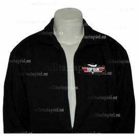 SUDADERA CON CREMALLERA TOP GUM (Fighter Weapons School) ESCUELA DE ARMAS DE CAZA