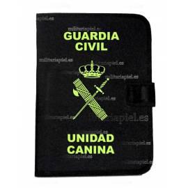 PORTADOCUMENTOS CON EL EMBLEMA DE LA GUARDIA CIVIL UNIDAD CANINA