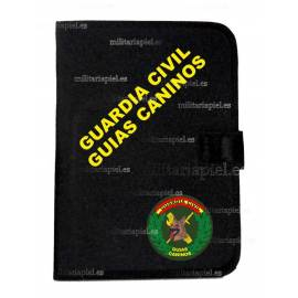 CARPETA PORTADOCUMENTOS CON EL EMBLEMA GUARDIA CIVIL GUIAS CANINOS