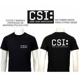 CAMISETA CSI ( ESCENA CRIMEN INVESTIGACION)