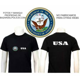 CAMISETA UNITED STATES DEPARTMENT OF THE NAVY