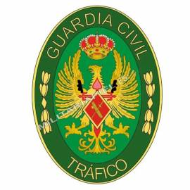 ADHESIVO GUARDIACIVIL TRAFICO