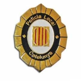 PLACA POLICIA LOCAL CATALUNYA