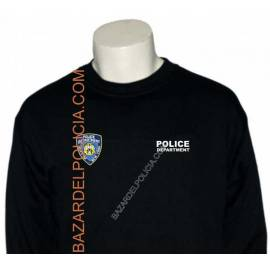 SUDADERA POLICE DEPARTMENT NEW YORK