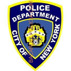ADHESIVO POLICE DEPARTMENT NEW YORK