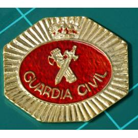 PLACA POLICIA JUDICIAL GUARDIA CIVIL