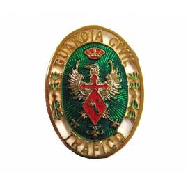 PLACA INSIGNIA GUARDIA CIVIL TRAFICO