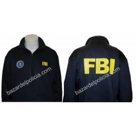 SUDADERA CREMALLERA FBI