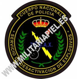 ADHESIVO CUERPO POLICIA NACIONAL TEDAX ANTIGUO