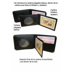 CARTERA PORTAPLACA GUARDIA CIVIL JUDICIAL DUO