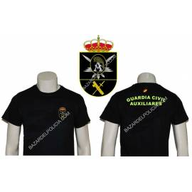 CAMISETA GUARDIA CIVIL AUXILIARES