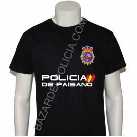 CAMISETA POLICIA NACIONAL PAISANO