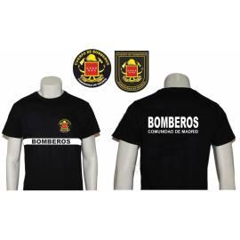 CAMISETA BOMBEROS COMUNIDAD DE MADRID