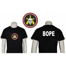 CAMISETAS BOPE ( BATALLON DE OPERACIONES POLICIALES ESPECIALES )