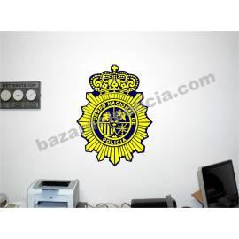 ADHESIVO VINILO PARED POLICIA NACIONAL