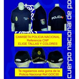 CAMISETAS POLICIA NACIONAL