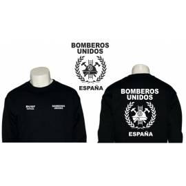 SUDADERA BOMBEROS UNIDOS ESPAÑA BUSF