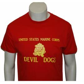 CAMISETA MARINE DEVIL DOGS