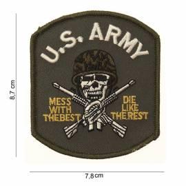 PARCHE BORDADO US ARMY