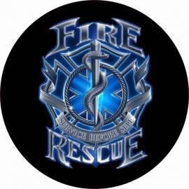 ADHESIVO FIRE RESCUE USA