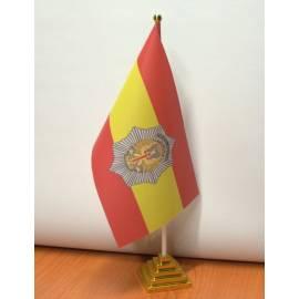 BANDERIN POLICIA MILITAR SOBREMESA