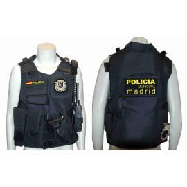 CHALECO BARBARIC FORCE PILKERTON II NEGRO POLICIA MADRID