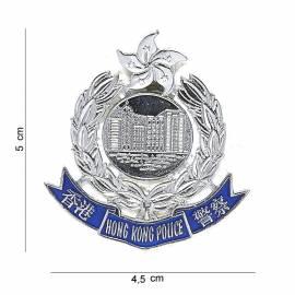 PLACA POLICIA HONG KONG
