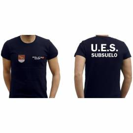 CAMISETA UES SUBSUELO CNP