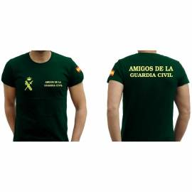 CAMISETA AMIGOS GUARDIA CIVIL