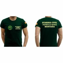 CAMISETA PATRULLA RURAL MONTAÑA GUARDIA CIVIL