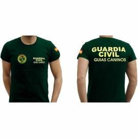 CAMISETA GUIAS CANINOS GUARDIA CIVIL
