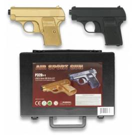 SET 2 PISTOLAS AIRSOFT DOUBLE EAGLE EN MALETIN