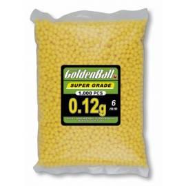 BOLSA DE BOLAS DE PLASTICO GOLDENBALL 1000 BOLAS 0.12G