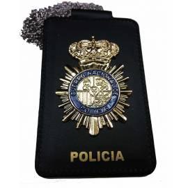 PORTAPLACAS POLICIA NACIONAL ( PLACA INCLUIDA )