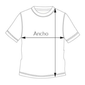 talla camiseta