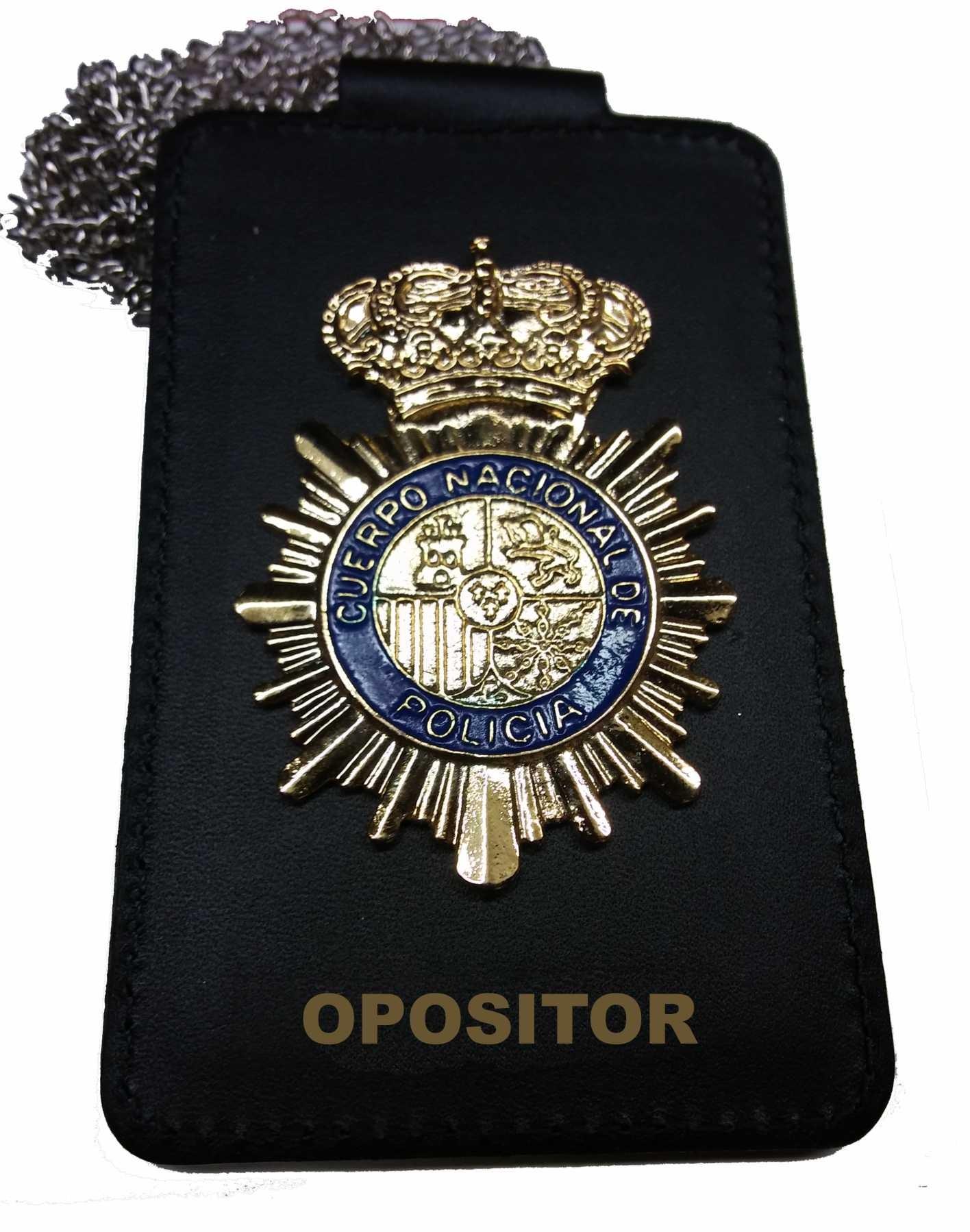 Portaplacas opositor policia nacional placa incluida for Ministerio de policia nacional